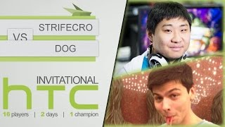 Hearthstone: HTC Invitational - D1 RO16: Strifecro vs Dog