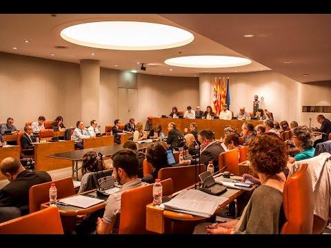 Ple Diputació de Barcelona ordinari de maig 2016