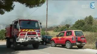 Trois incendies dans l'arrière pays ajaccien brûlent près de 80 hectares