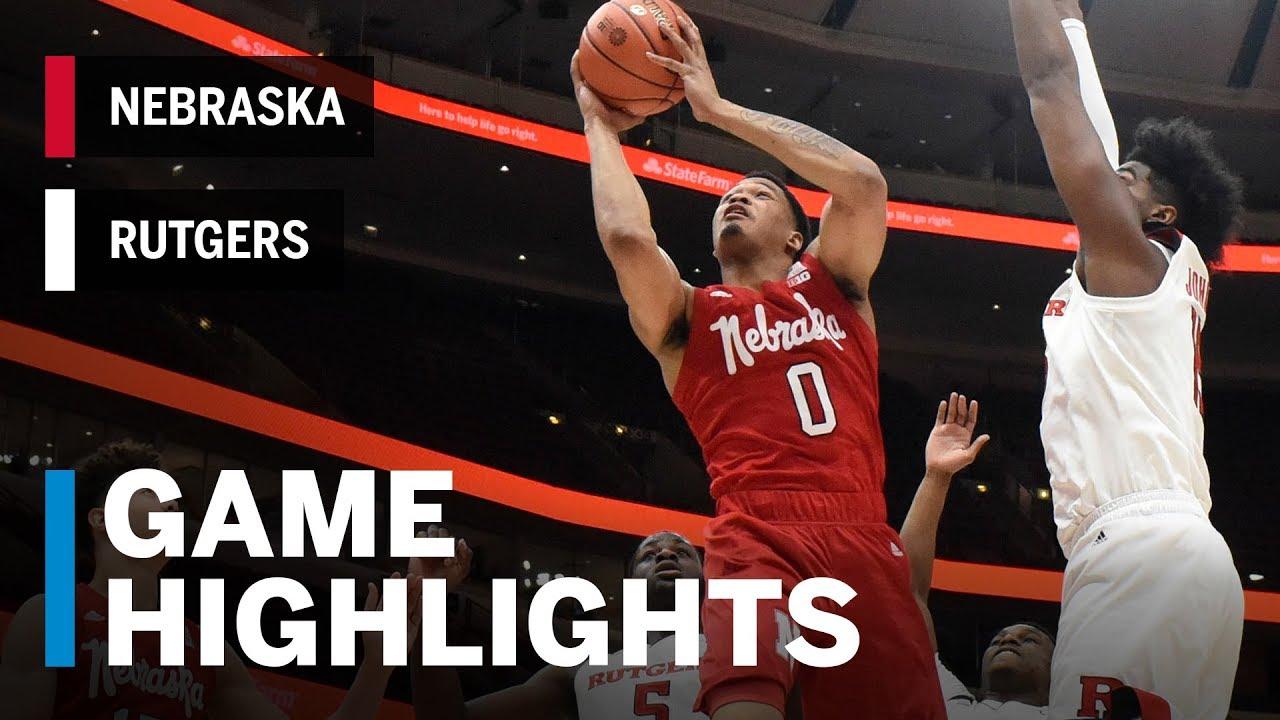 2018-19 Rutgers Men's Basketball Big Tourney | HuskerMax