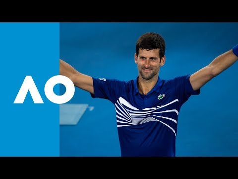 Novak Djokovic v Jo-Wilfried Tsonga match highlights (2R) | Australian Open 2019