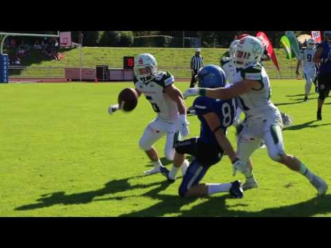 Cody Pastorino Schwabisch Hall Unicorns Highlights 2016