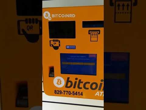 Cajero de Bitcoin en Republica Dominicana