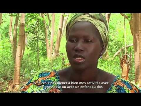 Semaine Nationale de la Planification Familiale : Pascaline Ouattara village de Matroukou
