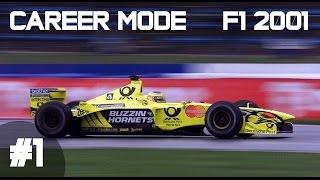 F1 2001 Career Mode Part 1 - Australian Grand Prix