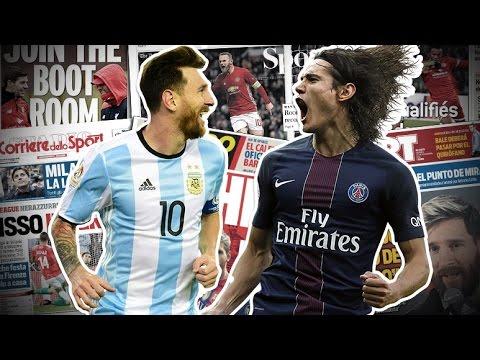 Cavani sur les traces de Lionel Messi ! | Revue de presse