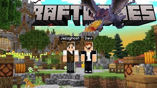 Minecraft: UM TOUR PELO CRAFT GAMES! A SÉRIE SURVIVAL DO DAVI DA REDSTONE GANG!
