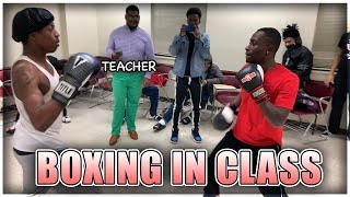 Put On The Gloves Ep.2 IN CLASS! (College) thumbnail