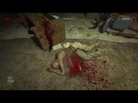 Outlast Whistleblower Part 2 waking up to blood and Cannibal man...Great.