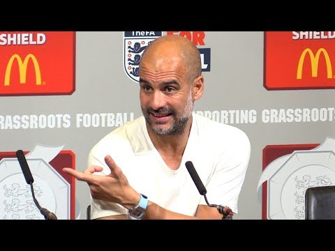 Liverpool 1-1 Man City (4-5 On Pens) - Pep Guardiola Post Match Press Conference - Community Shield