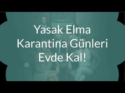 Yasak Elma Karantina Günleri Evde Kal | أيام الحجر المحظور التفاح البقاء في المنزل