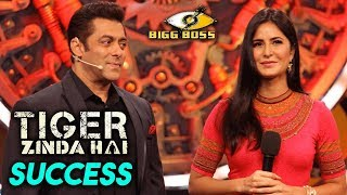 Tiger Zinda Hai Success Party in Bigg Boss 11 House With Salman Khan And Katrina Kaif