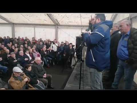 Tensa asamblea de los pensionistas de Endesa tras el laudo arbitral