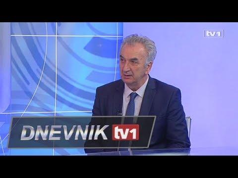 Gost Dnevnika TV1 - Mirko Šarović, ministar vanjske trgovine i ekonomskih odnosa BiH