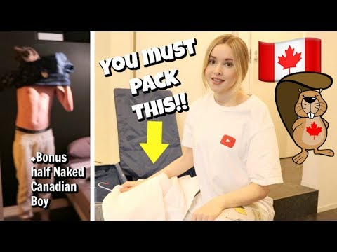 The World's Greatest Canadian Packing Suitcase Tutorial