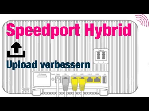 Speedport Hybrid - Upload Langsam {Lösung}