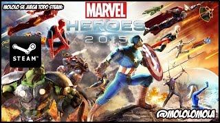 Mololo prueba MArvel Super Heroes 2015-  Mololo se juega todo steam