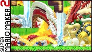 Super Mario Maker 2 - Crazy Corrupted GLITCH Level