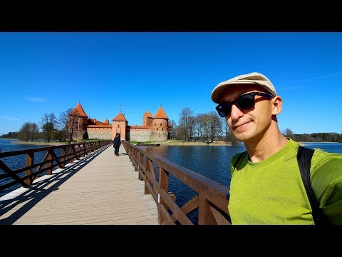 CASTLE ON THE LAKE in Trakai, Lithuania