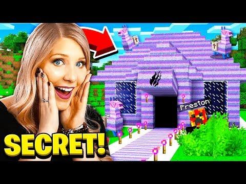 I Found PrestonPlayz Secret Fortnite Minecraft House