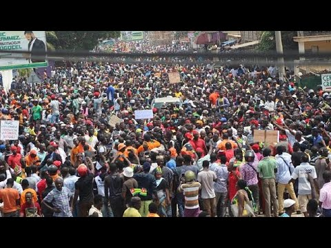 Togo records huge turnout at anti-govt protest despite internet setback