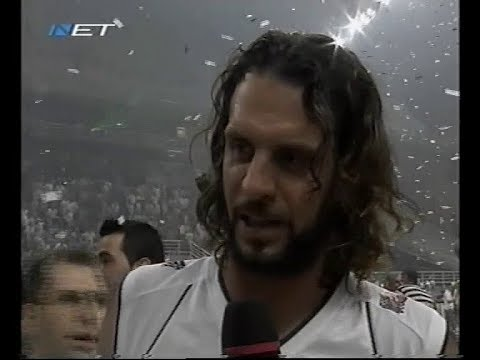 2007 Greek finals game 5 Panathinaikos-Olympiakos(plus post game and ceremony)