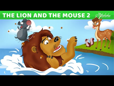 The Lion, The Mouse and The Sleepy Bear   Bedtime Stories for Kids   Animated Fairy Tales