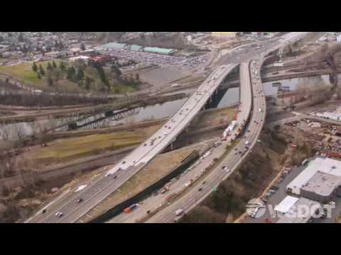 Southbound I-5 Puyallup River Bridge Traffic Switch