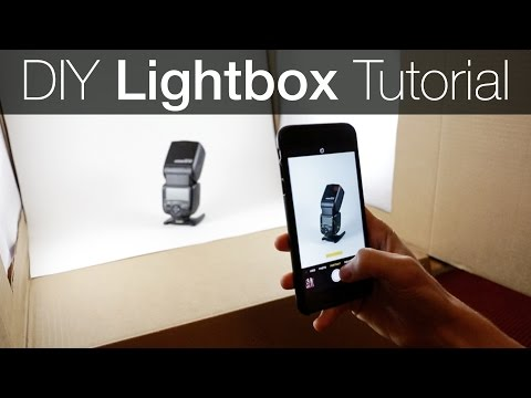 Diy Light Box Ography Tutorial