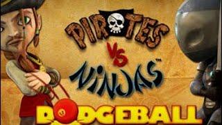 Pirates vs Ninjas Dodgeball game review