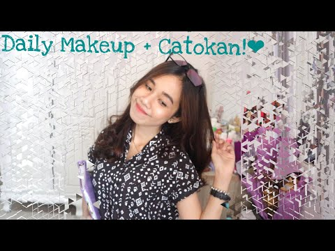 HOW I GOES TO CAMPUS (Makeup routine+nyatok rambut)   fegaahmad (BAHASA)
