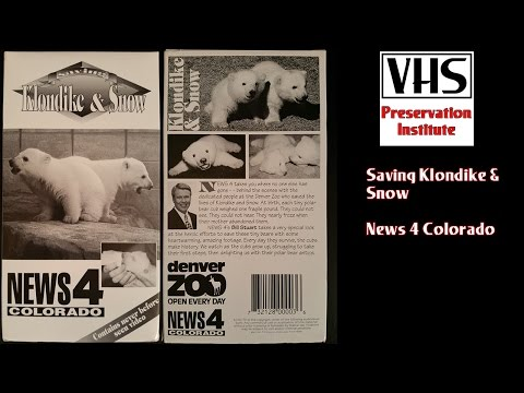 Saving Klondike & Snow News 4 Colorado VHS Tape Preservation