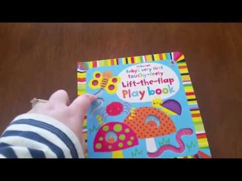 Baby's Very First Touchy Feely Lift-The-Flap Playbook - Usborne Books and More