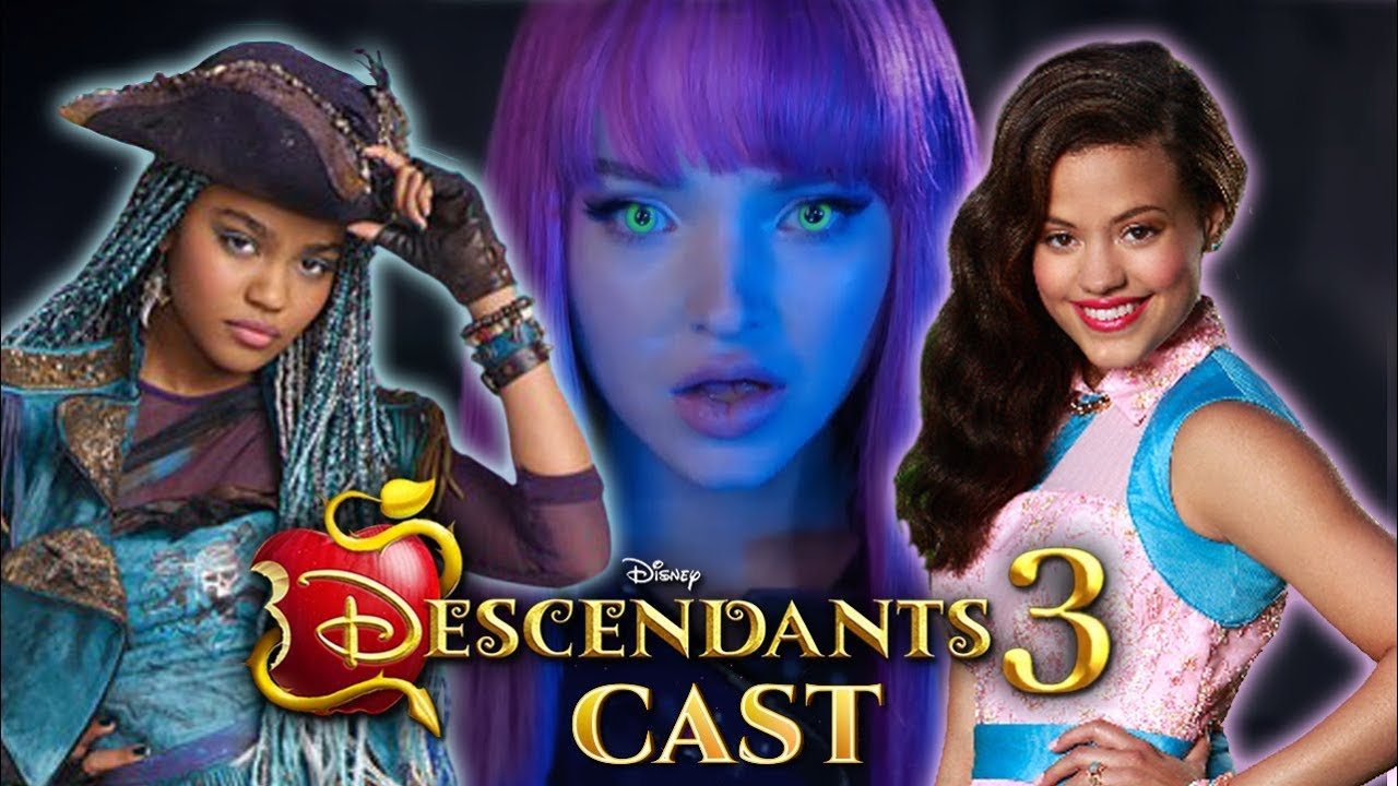 Descendants 3 OFFICIAL cast! Audrey is back?! | Doovi