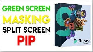 Masking, Green Screen, PIP Dan Split Screen Di Filmora 9