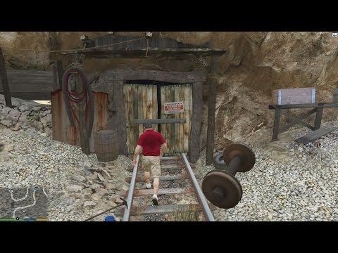 GTA 5 - Khám phá đường hầm bí mật trong GTA 5