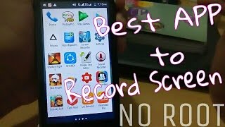Best app to RECORD Android Screen without ROOT (Hindi)
