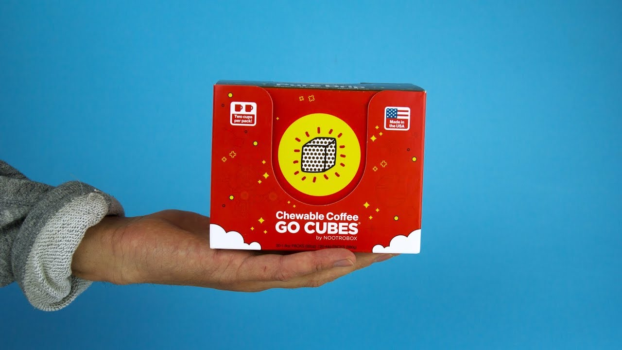 Go Cubes Edible Coffee Product Review Youtube