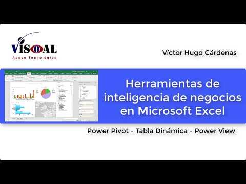 Power Pivot y Power View en Excel 2016