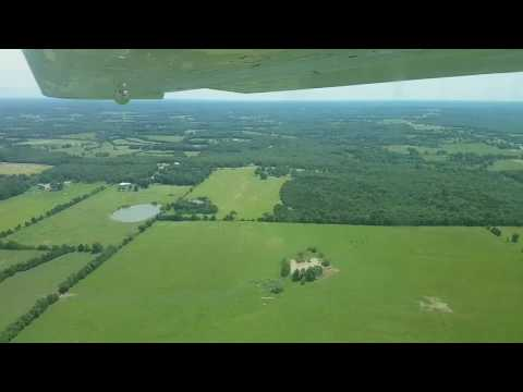 Landing at KSLN (Salina, Kansas)