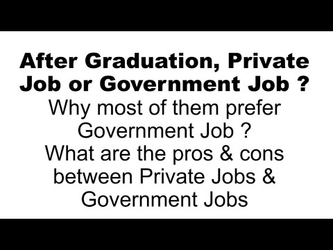 Private Job Or Governmemt Job?? Which Is Better ?? In Tamil