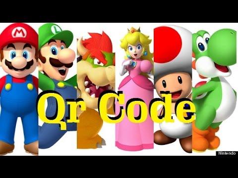Animal Crossing New Leaf Qr Code Mario