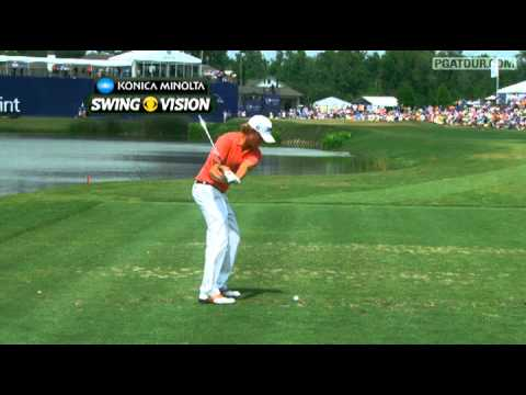 SwingVision of Webb Simpson & Bubba Watson Sunday at Zurich Classic
