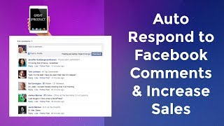 Facebook Messenger Marketing: How to Auto Respond to FB Comments