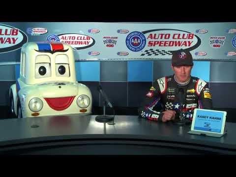 2018 NASCAR Fontana Monster Cup pre-race Q&A   2