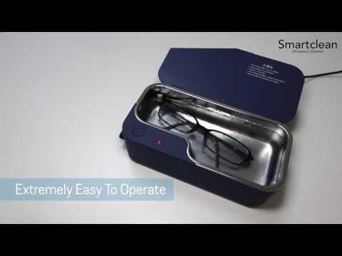 Smartclean Ultrasonic Cleaner 20sec fast view