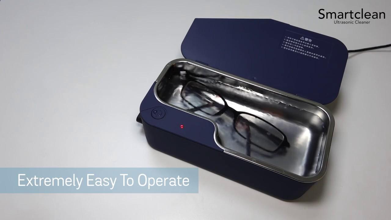 Vision.7 Ultrasonic Eyeglasses Cleaner // Silver video thumbnail