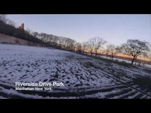 RACING DRONE IN MANHATTAN PARK