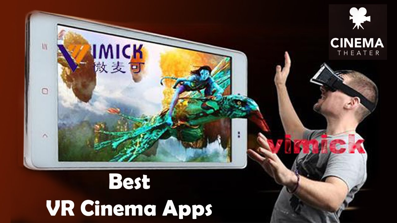 best virtual reality cinema apps for vr glasses youtube. Black Bedroom Furniture Sets. Home Design Ideas