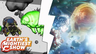 How Marvel Studios created the water bears in Ant-Man and the Wasp! | Earth